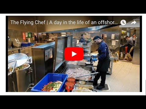 Nathan Huxham | a day In the life of an offshore chef
