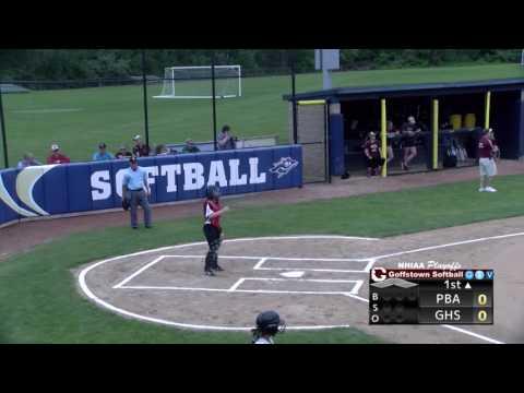 Softball vs Pembroke Academy Playoffs 2017