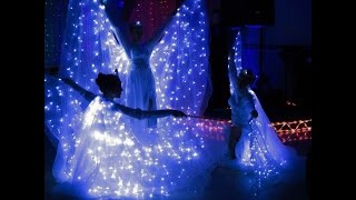 Свадебный танец в окружении ПТИЦ СЧАСТЬЯ и светящихся АНГЕЛОВ. т. 8928 279 6705