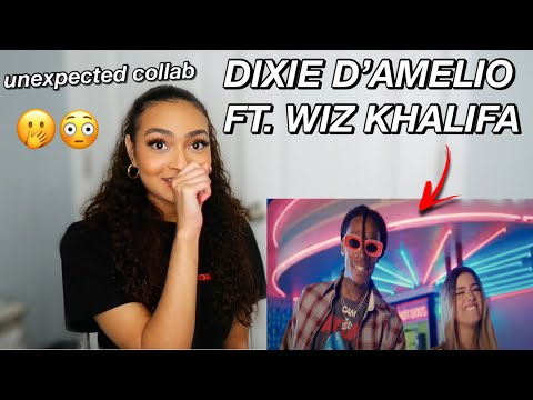 Dixie D'Amelio – One Whole Day Feat. Wiz Khalifa (Official Video) | REACTION
