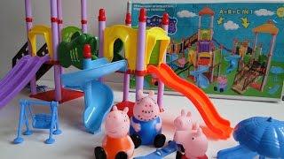 Детская игровая площадка Свинки Пеппы. Обзор