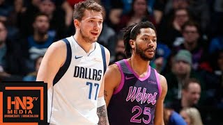 Dallas Mavericks vs Minnesota Timberwolves Full Game Highlights | 01/11/2019 NBA Season