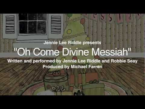 O Come Divine Messiah Lyrics & Chords | Jennie Lee Riddle, Robbie ...