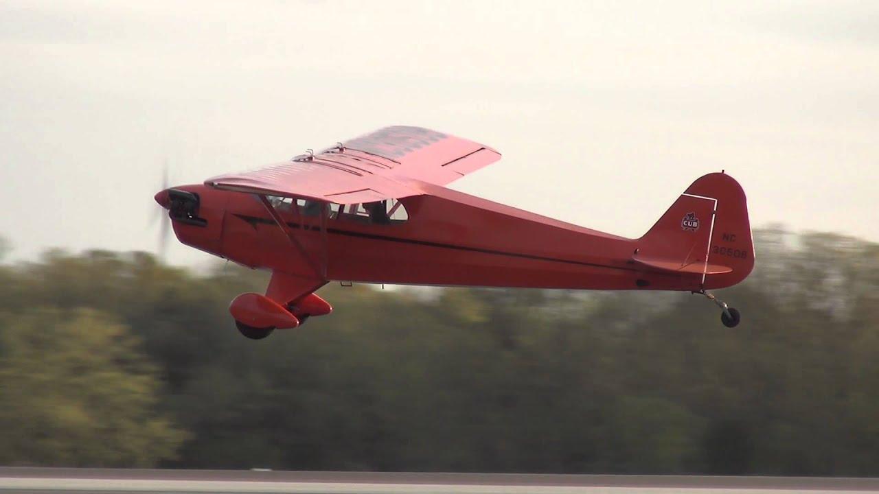 Piper J5A Cub, NC30508 at KHWY on 4/22/13