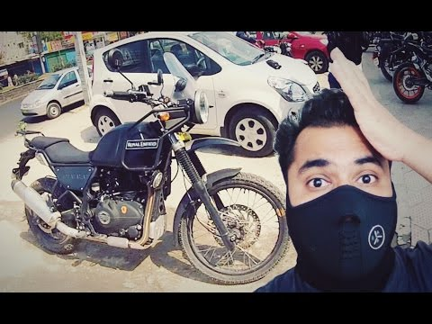 Royal Enfield HIMALAYAN - City Ride Test - RE Hater rides it - Part 1