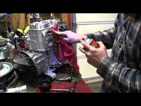 Skidoo Rev 800 clean power valves Episode 9