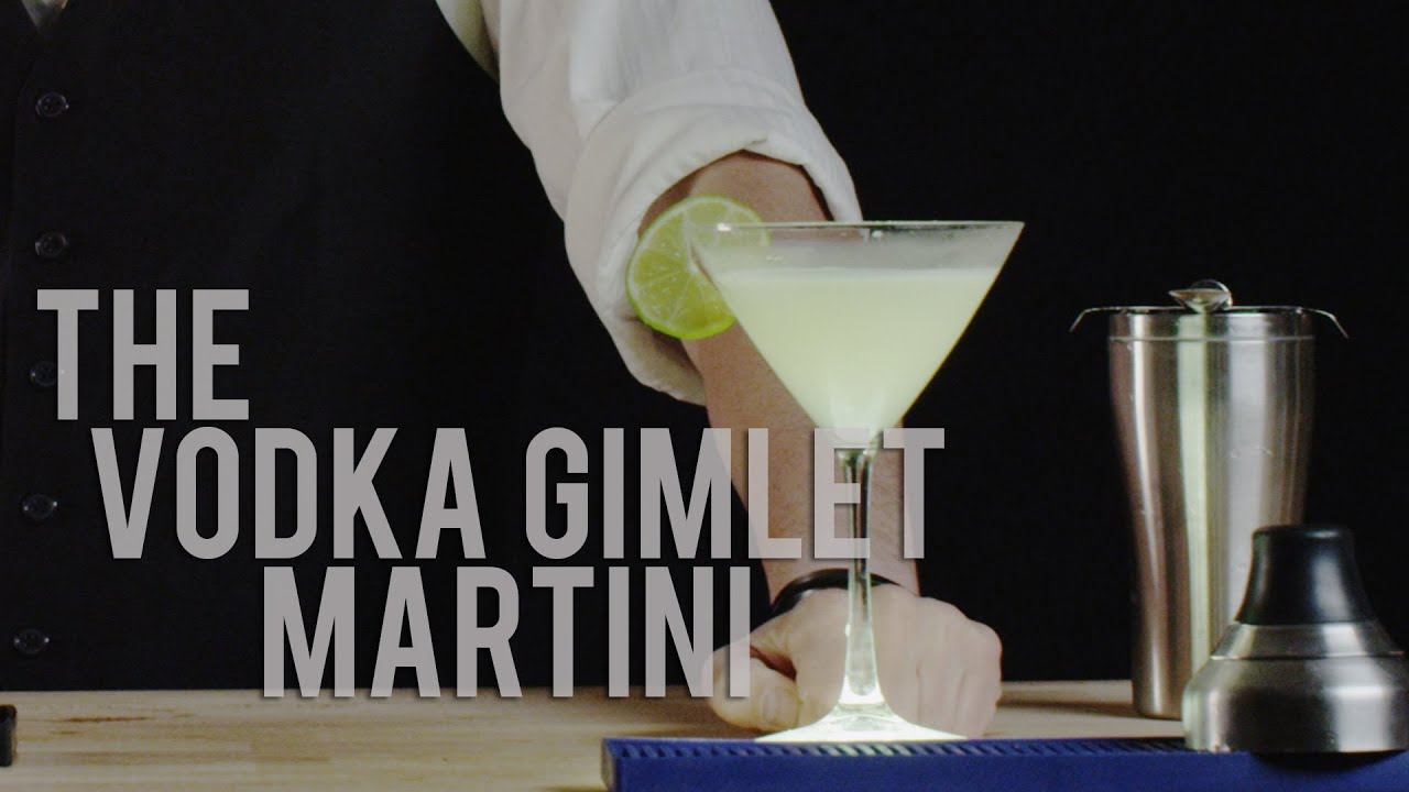 Martini Recipes Vodka How To Make The Vodka Gimlet Martini Best Drink Recipes Youtube