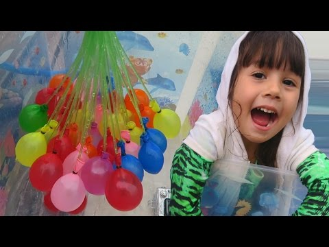 Bunch O Balloons Make 100 Water Balloons in less than 1 minute