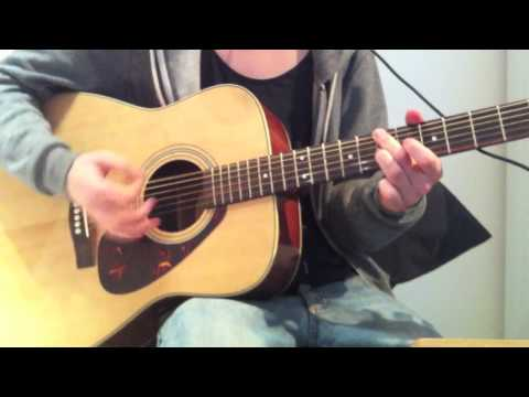 WHISPERS IN THE DARK BY MUMFORD & SONS - Guitar Cover (Played like Marcus Mumford)
