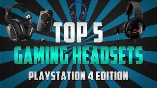 Video 5 Best Gaming Headsets for PS4 2016 (Top 5) download MP3, 3GP, MP4, WEBM, AVI, FLV Juni 2018