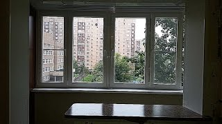 Пример объединения балкона с комнатой в доме серии п-46 свой.