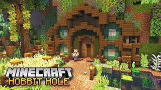 Minecraft - How t๐ Build a Hobbit Hole [Tutorial]