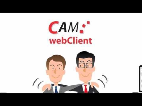 Die Welt von CAM: Der webClient