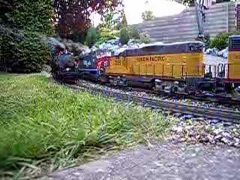 Gscale Garden train YouTube