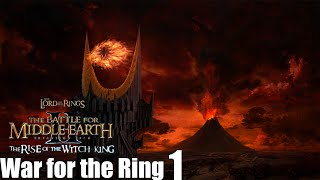 The Battle For Middle-earth 2 The Rise of the Witch-king War for the Ring Mordor Part 1
