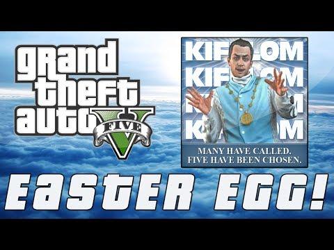 """Grand Theft Auto 5   Hidden """"Epsilon Program"""" Recruiter Easter Egg (GTA V)"""
