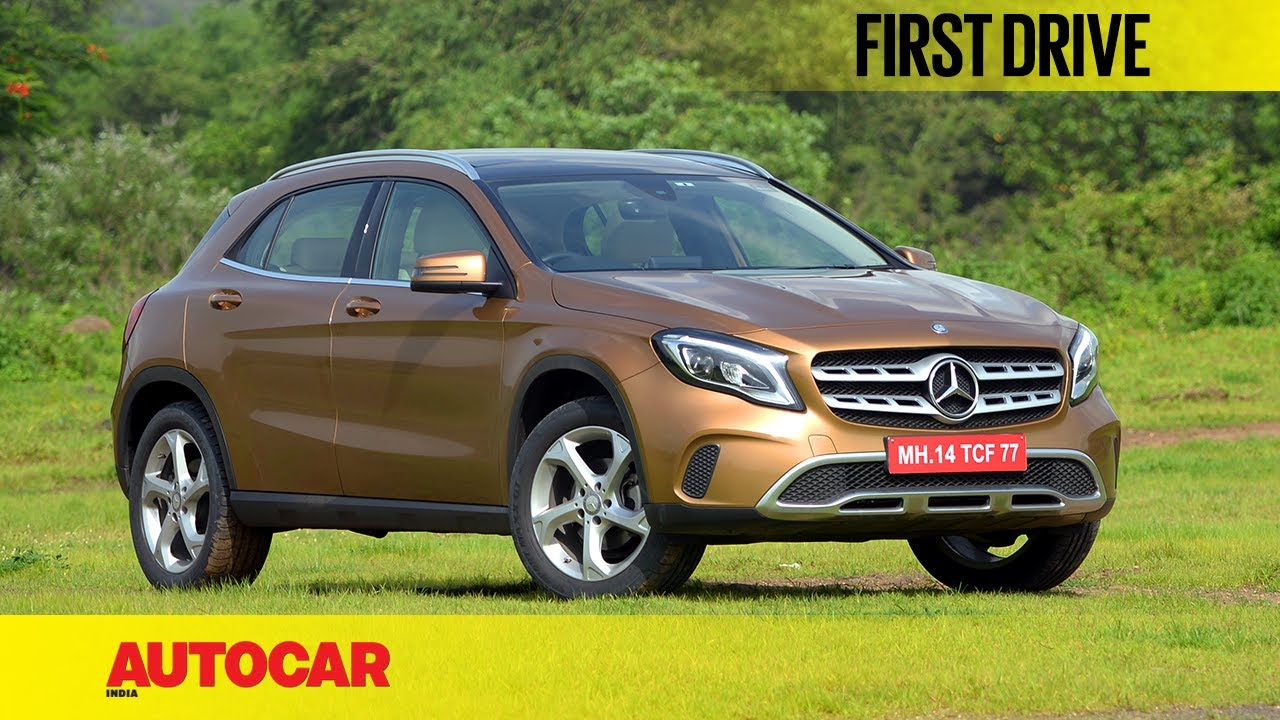 2017 mercedes benz gla 220d first drive autocar india for Mercedes benz gla india
