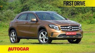 видео Mercedes-Benz GLA