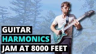 Guitar harmonics jam at 8,000 feet in the Rockies (360° Music Video)