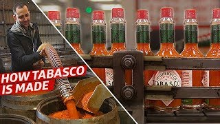 How the Tabasco Factory Makes 700,000 Bottles of Hot Sauce Per Day  Cult Following