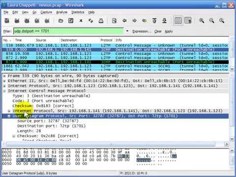 Wireshark   part 2 lesson 6 User Datagram Protocol udp rw10WMKjFNw