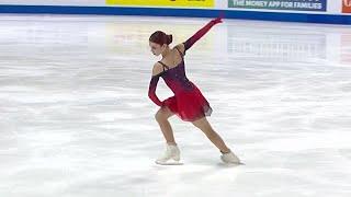 Александра Трусова Короткая программа Женщины Лас Вегас Гран при по фигурному катанию 2021 22