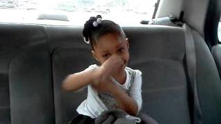 Mya riding around and gettin it