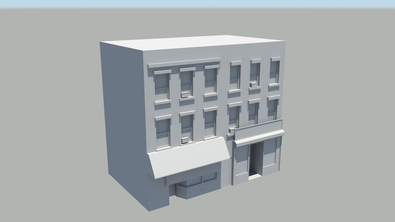 Autodesk maya old shops left building youtube for 3d house builder online
