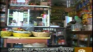 Capturan a Molleja presunto sicario de Los Pulpos acusado de matar a adolescente