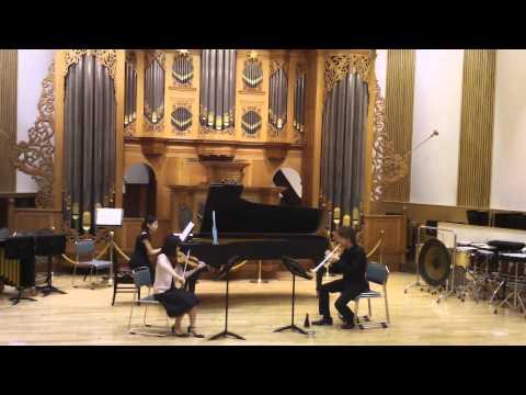Eric Ewazen TRIO for Trumpet,Violin and Piano