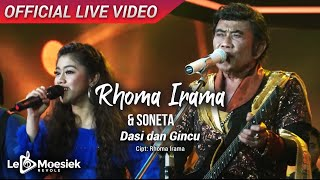 Rhoma Irama & Soneta - Dasi dan Gincu (Official Live Video)