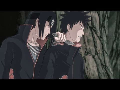 Обито показывает почему боится Итачи в аниме Наруто