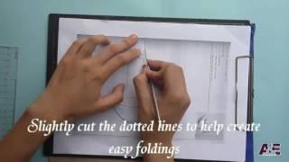 Открытки киригами для начинающих   схемы и шаблоны | киригами схемы объёмные открытки