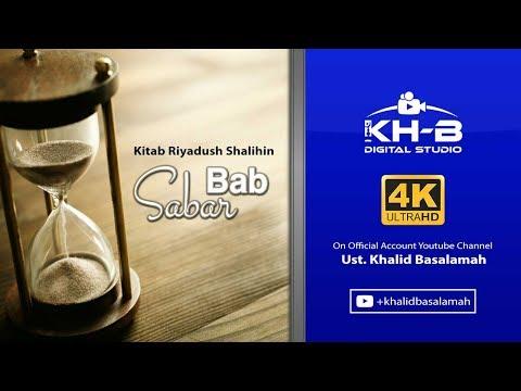 Riyadhush Shalihin - Bab Sabar (Part 1)