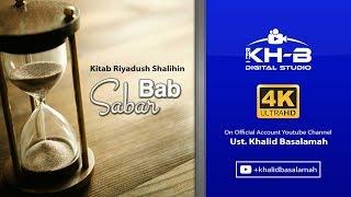 Riyadhus Shalihin - Bab Sabar Part 1
