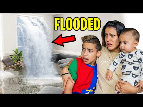 OUR HOUSE is FLOODED!! (DEVASTATING)   The Royalty Family