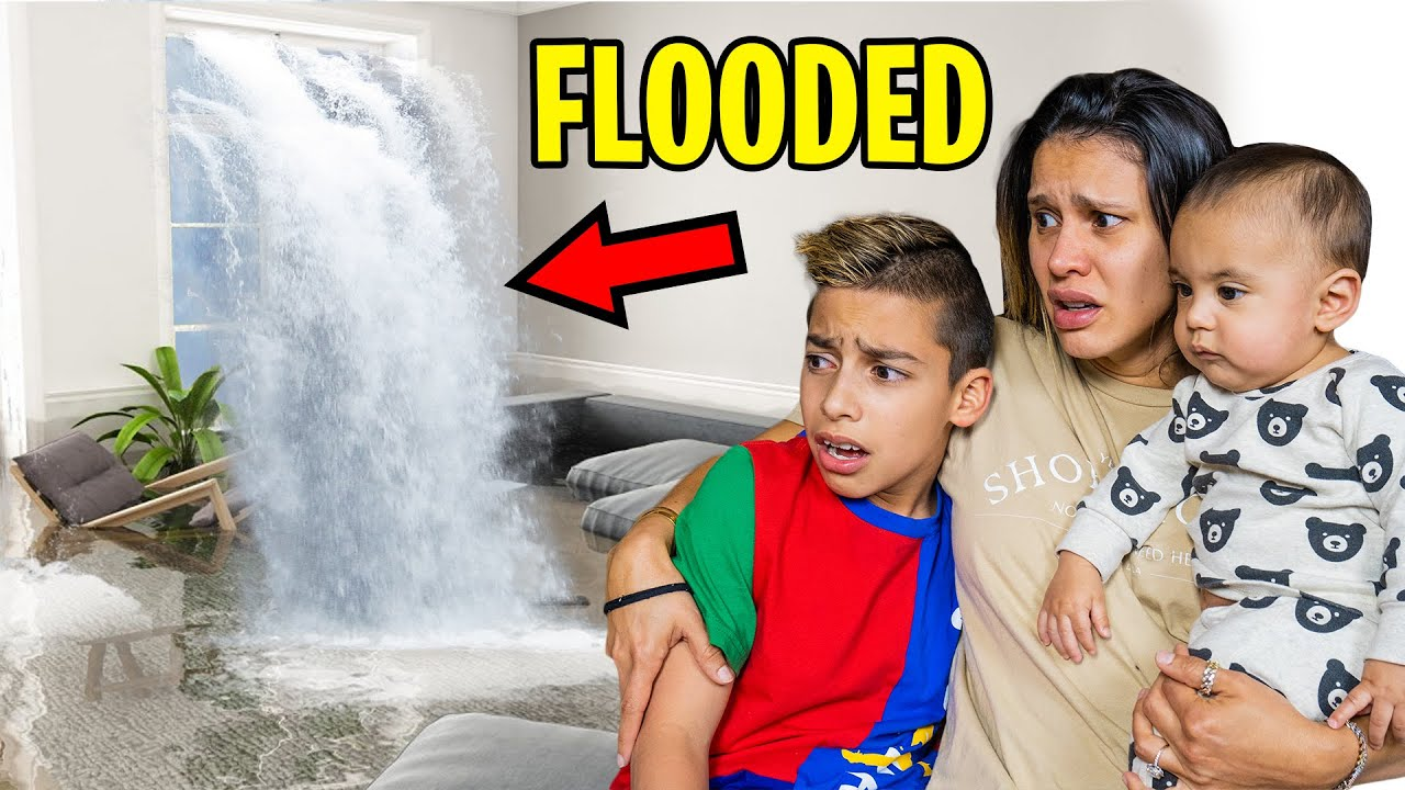 Download OUR HOUSE is FLOODED!! (DEVASTATING) | The Royalty Family