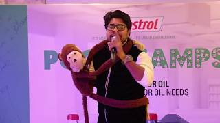 Rahul - Human ventriloquism act for castrol 2017