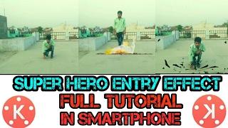 How to Make a snake effect with mobile kinemaster nagraj