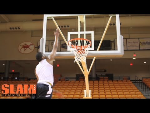 Eric Griffin 2012 NBA Draft Workout - Campbell University - NCAA Dunk of the Year
