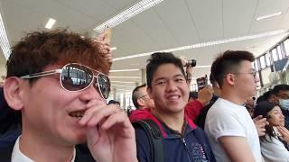 星宇航空首航日ep5|登機口好多人想跟張國煒合照...飛機Delay了!!