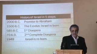 ISRAEL AND THE VALLEY OF DRY BONES (Ezekiel 37:1-10) -Oct 13, 2013 Jacques Gabizon
