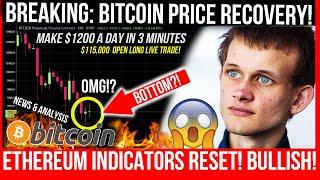 Bitcoin PRICE PUMP SOON! Ethereum IS NOT BEARISH! Make $1200 a day Trading BTC! Bitcoin TA