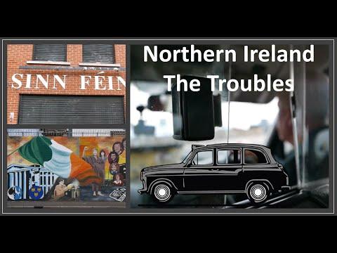 Northern Ireland, The Troubles, Tour Of Belfast - Falls, Shankill, Peaceline, Finn Sq, Crumlin Rd