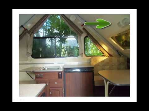 Aliner Classic 2011 Pop Up Camper Youtube