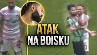 Piłkarz zaatakował rywali ŻYLETKĄ
