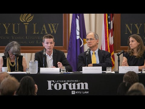 Latham & Watkins Forum: Reining In Big Tech