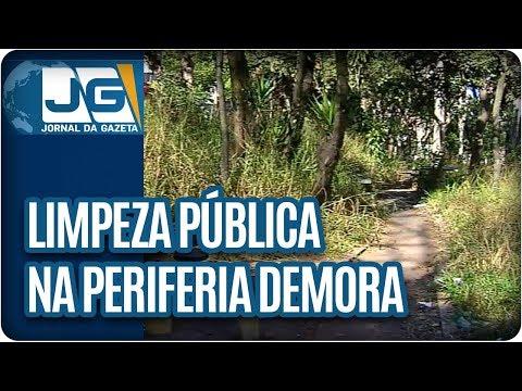 Limpeza pública na periferia demora