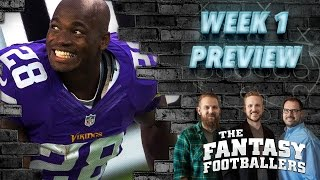 Fantasy Football 2016 - Week 1 Matchups, TNF Review, Fantasy News - Ep. #261