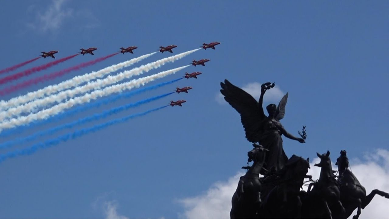 Queen's Birthday Flypast 2019 - Trooping the Colour